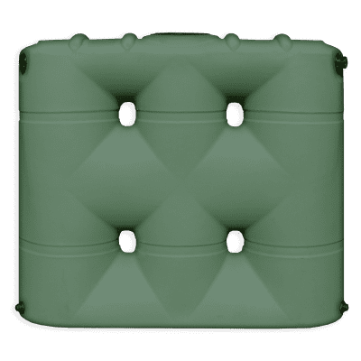 Bushman 530 Gallon Rainwater Harvesting Tank Forest Green