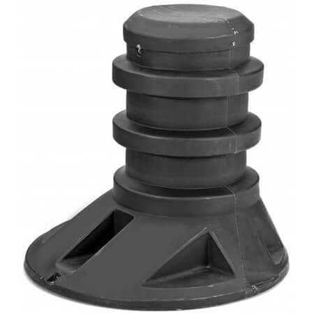 """Snyder Industries 30"""" Poly Tank Riser and Lid"""