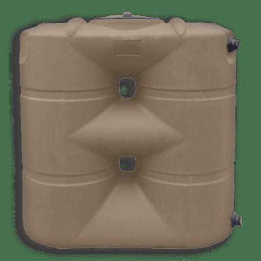 Bushman USA 265 Gallon Slimline water storage tank in mocha