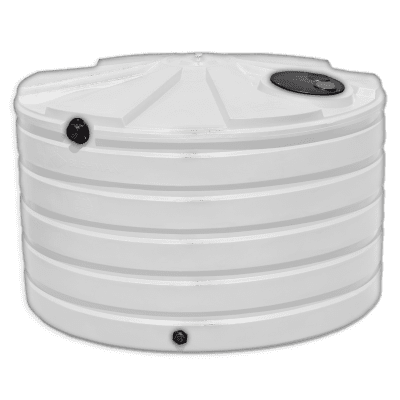 Bushman 1110 Gallon Low Profile Rainwater Harvesting Tank in Natural