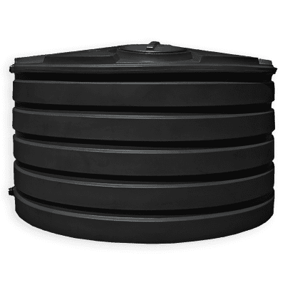 Bushman 1110 Gallon Low Profile Water Storage Tank in Natural