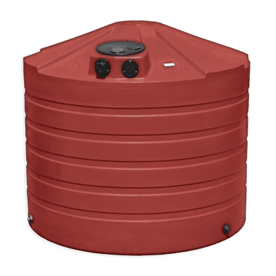 Bushman 1320 Gallon Low Profile Rainwater Harvesting Tank in Brick