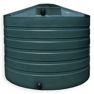 Bushman 1320 Gallon Low Profile Water Storage Tank in Green