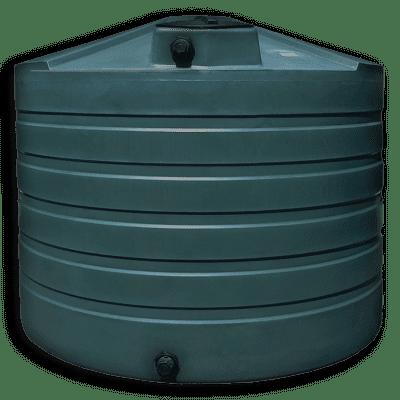 Bushman 1320 Gallon Low Profile Water Storage Tank in Green