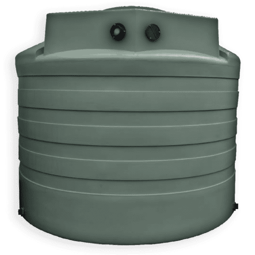 Bushman 2650 Gallon Rainwater Harvesting Tank in Forest Green
