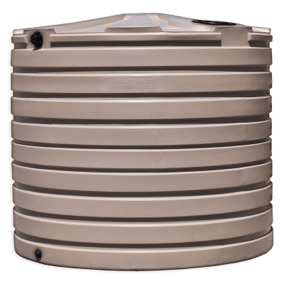 Bushman 2825 Gallon Rainwater Harvesting Tank in Mocha