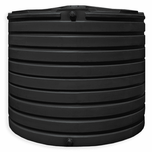 Bushman 2825 Gallon Water Storage Tank in Black