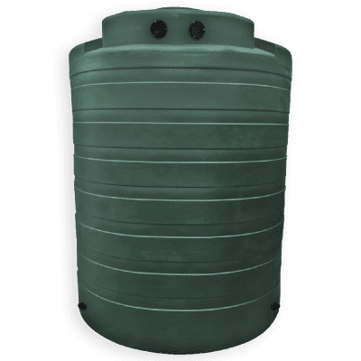 Bushman 4050 Gallon Rainwater Harvesting Tank in Forest Green