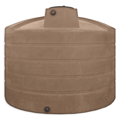Bushman 4995 Gallon Water Storage Tank in Mocha