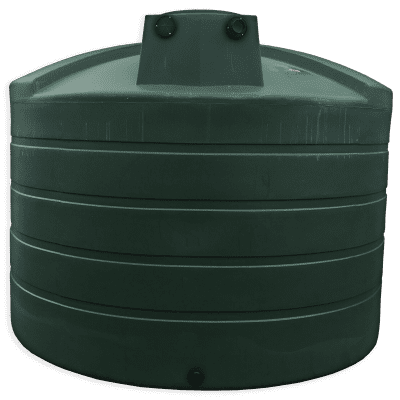 Bushman 5050 Gallon Rainwater Harvesting Tank in Black