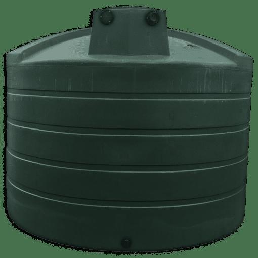 Bushman 5050 Gallon Rainwater Harvesting Tank in Black