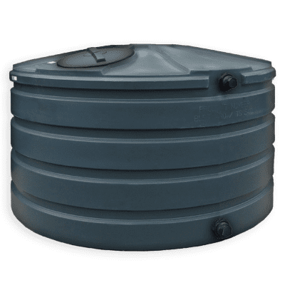 Bushman 660 Gallon Plastic Water Storage Tank in Green